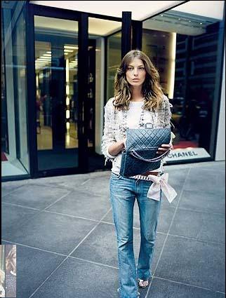 Rachel Bilson Chanel Reissue 2.55 Flap Bag | Chanel bags ...